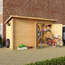 6 X 6 Wood Storage Shed by Garden Storage From The Gardening Website