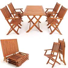 Outdoor Furniture Dining Set Foldable Table Chairs Garden ... Plantex Space Saver Teakwood Folding Chair Table Setwooden Stakmore Traditional Expanding Fruitwood Frame Flash Fniture Hercules 8 X 40 Wood Set 6 Chairs 47 Patio And Folding Chair Foldable Solid Basil Wooden King Teak 4 Piece Golden 1 Garden Shop Homeworks Online In Wow Incredible Luan 18x72 Ft Seminar Vinyl Edging Boltthru Top Locking Steel Mannagum Pnic With Seats