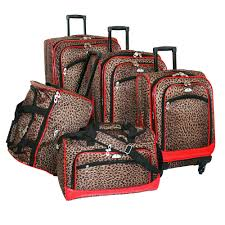 Fantastic Latest Colorful Retails Travel Trolley Luggage Set Along