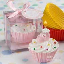 2018 Wedding Candle Favors Pink Cupcake &Amp Bootie Design Cake Candle Favour For Baby Showers And Baby Birthday Gift From Kissulwedding $30 25