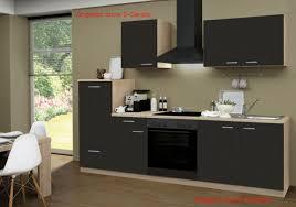 küchenzeile classic lava 270cm sonoma eiche nb leerblock küchenleerzeile