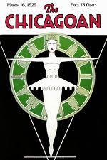 Chicago Illinois Modern Ballet Dance Tourism Travel Vintage Poster Repro FREE SH