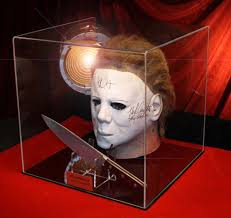 Halloween H20 20 Years Later by Halloween Prop Knife H20 Signed Jamie Lee Curtis Autograph Mask
