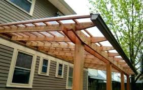 Deck Roof Plans How To Build A Shed Roof Over Deck Best Image Deck