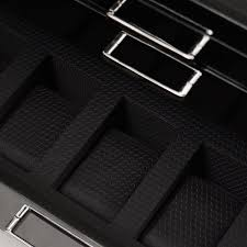 Meridian File Cabinet Rails by Amazon Com Wolf 461070 Meridian Five Piece Watch Box Black Watches