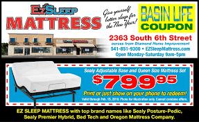 EZ Sleep Mattress Center With Mattresses Adjustable Foundations