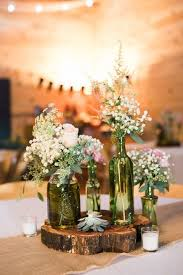 Rustic Wedding Centerpiece Idea