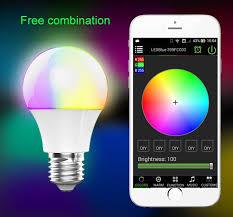 Magic Blue UU Bluetooth Bulb E27 $11 53 line Shopping GearBest