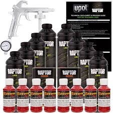 100 Best Truck Bed Liner Amazoncom UPOL Raptor Hot Rod Red Urethane SprayOn