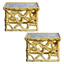 100 Mid Century Modern Canada Ribbon Side Tables Made In APair