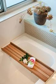 Bathtub Caddy With Reading Rack by Wooden Bathtub Caddy 87 Cool Bathroom Also Wooden Bathtub Caddy