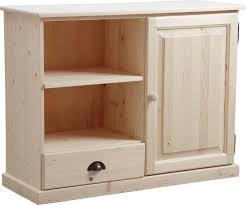 meuble haut cuisine bois tv en bois brut