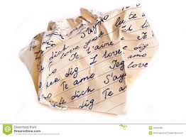 Crumpled Letter