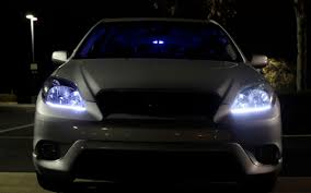 5 steps to install led lighting in headlights for toyota 5