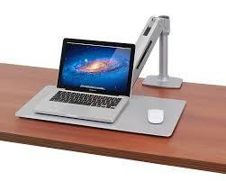 Ergotron Lx Desk Mount Notebook Arm by Amazon Com Ergotron Workfit P Sit Stand Workstation Platinum 24