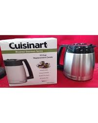 DGB 600RC Coffee Maker 10 Cup Stainless Steel Carafe Cuisinart DCC 1150BK