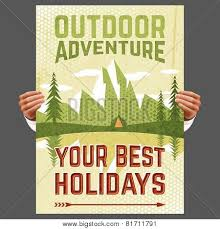Outdoor Adventure Tourism Poster
