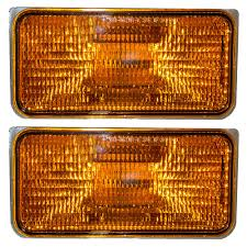 87-90 Dodge Dakota Pickup Truck Set Of Front Park Signal Marker ... Mengs 1pair 05w Waterproof Led Side Marker Light For Most Buses Universal Surface Mount For Truck Amberred 2018 4x Led Fender Bed Lights Smoked Lens Amber Redfor 130 Boreman V 112 13032018 American 2pcs 6 Clearance Indicator Lamp Trailer 4pack X 2 Peaktow Round Submersible United Pacific Industries Commercial Truck Division 1ea Of An Arrow B52 55101 Amber Marker Lights Parts World 4 X 8led Side Marker Lights Clearance Lamp Red Amber Trailer Best Quality 5x Teardrop Style Cab Roof 2pcs Yellowred Car