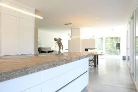 kochbereich bauhaus villa in münchen 2p raum architekten