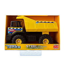 Tonka Steel Classic Steel Mighty Dump Truck Vehicle Construction ...