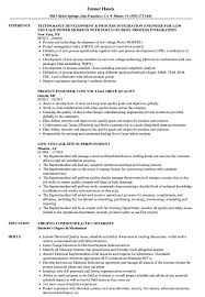 Download Low Voltage Resume Sample As Image File