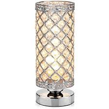 Table Lamp Petronius Crystal Lamps Decorative Bedside Nightstand Desk Shade For Bedroom