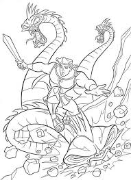 Disney Maleficent Coloring Pages Awesome Villains Inspirational Slaying The Dragon Image