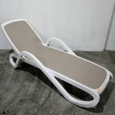 Poly Pool Deck Lounger Home Furniture Others On Carousell