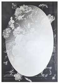 casa padrino designer wandspiegel schwarz grau 70 x h 101 3 cm garderobenspiegel wohnzimmer spiegel schlafzimmer spiegel luxus qualität