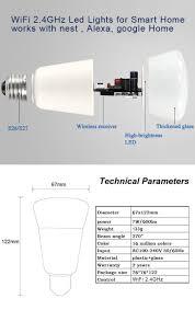 wifi led bulb dimmer smart rgbw light bulbs remote wifi