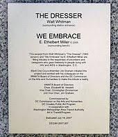 walt whitman the wound dresser meaning e ethelbert miller