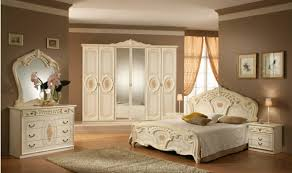 chambre ou chambre à coucher chambre à coucher grandiose style baroque