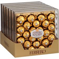 Ferrero Rocher Christmas Tree Box by Ferrero Rocher Fine Hazelnut Chocolates 10 6 Oz Walmart Com