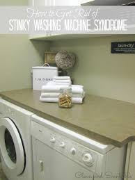 how to get rid of smells from washing machines clean and scentsible