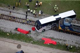 Crossing In Deadly Train-Bus Collision Has History Of Accidents: NTSB Four Killed As Truck Hits Bus On Lagosibadan Expressway Premium Pepsi Crashes Into Fort Bend County Creek Abc13com Update One Dead After Tractor Trailer House In Carroll Truck Crash Chicago Best 2018 Woman Dies Crash Between Car I95 Cumberland Part Of Nb I69 Eaton Co Reopens 1 Critical Cdition Hwy 401 Near Dufferin The Poultry Reported Rockingham Cleveland His Got Stuck Then He Saw A Train Coming Sun Herald Louisa Man Gop Crozet