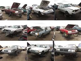 Junkyard Find, Denver Style: So Many Old Subarus! - The Truth About Cars