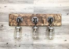 Rustic Barn Bathroom Lights by Mesmerizing Rustic Bathroom Lights 129 Rustic Bathroom Lighting