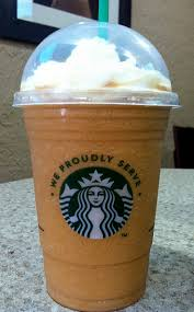 Pumpkin Frappuccino Starbucks by Pumpkin Spice Frappuccino Starbucks Coffee At Cafe Blue This