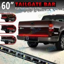 60 truck tailgate light bar led white stop running