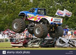 Monster Truck Stock Photos & Monster Truck Stock Images - Alamy Bangshiftcom Monster Truck My Favotite Trucks Mark Traffic Dodge Raminator Breaks Speed Record The Rock Shares A Photo Of His Peoplecom Grave Digger Driver Hurt In Crash At Monster Truck Rally Jam Roars Into Angel Stadium Anaheim This Weekend Abc7com Monster Truck Crash Videos For Children Youtube Crushing It With Family Fun Monsterjam Surving A Drive Yrhyoutubecom Beamng Drive Crashes Crushing Cars Jumps Fails 2 Fandom Powered By Wikia Titan Wiki