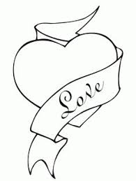 Valentines Day Heart Coloring Page From St Select 27197 Printable Crafts Of Cartoons Nature Animals Bible And Many More