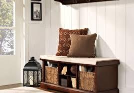 bench elegant black indoor storage bench frightening cheap
