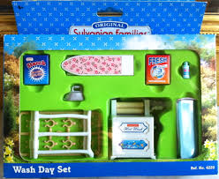 Calico Critters Master Bathroom Set by Sylvanian Families U2013 Wash Day Set Sylvanian Families Pinterest