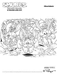 Smurfette From Smurfs The Lost Village Coloring8