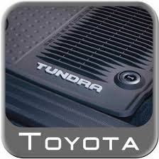 2005 Toyota Avalon Floor Mats by Awesome New 2014 2018 Toyota Tundra Rubber Floor Mats From