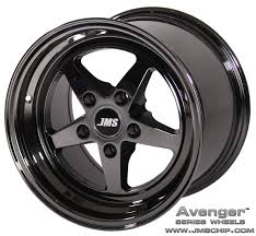 100 Black And Chrome Rims For Trucks Avenger Series Race Wheels 17 Inch X 10 Inch Rear