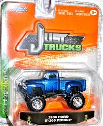 Jada 2015 Just Trucks 1956 Ford F-100 Pickup Wave 5 Blue W/White ...