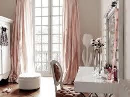 chambre poudré roses rideaux par dekobook