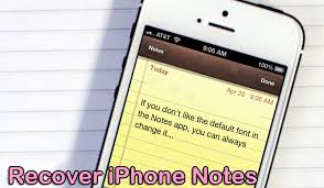 How to Recover Deleted Lost Notes from iPhone iPad After
