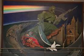 Denver International Airport Murals Youtube by Unexplained Confidential Denver International Airport Conspiracy